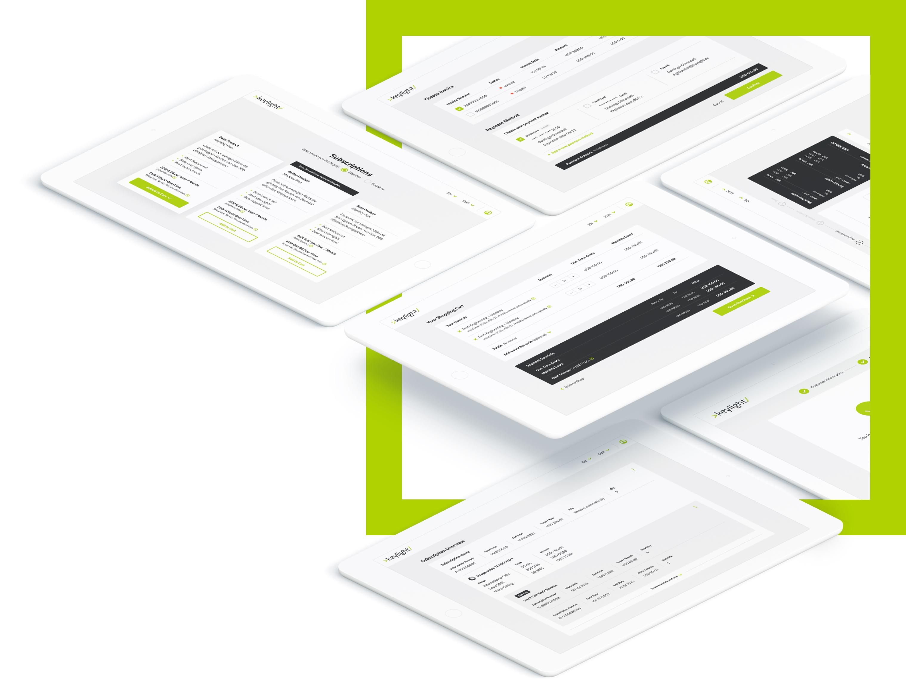 keylight Subscription Platform