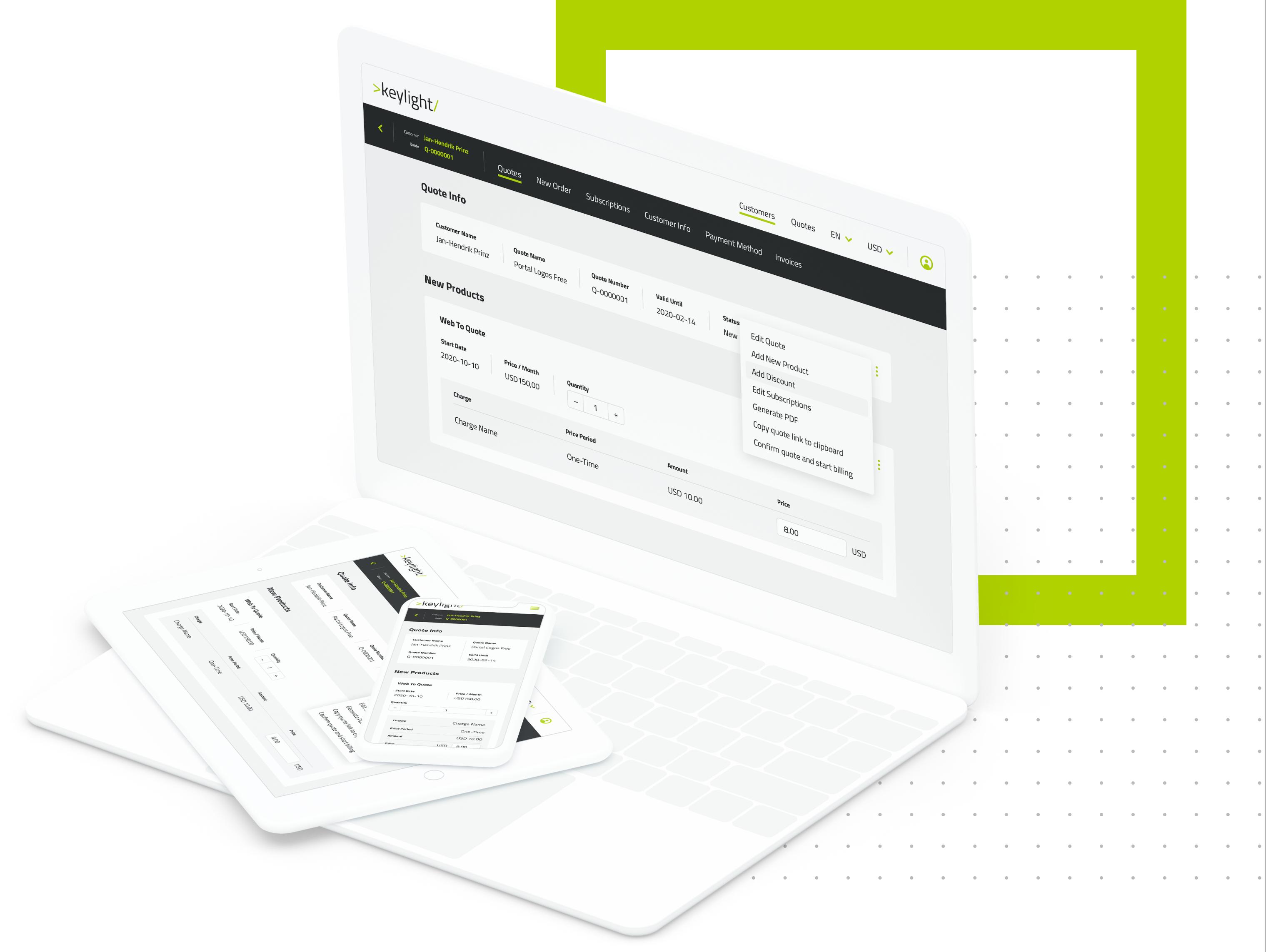 keylight Sales Channel